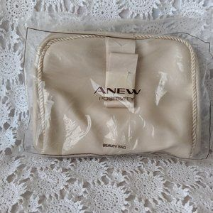 Avon A New Positivity Beauty Cream Cosmetic Bag